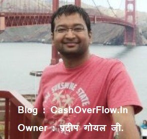 Top 10 Best Indian Bloggers, Blog, & Earning Everything - CashOverflow.In, Pardeep Goyal - Nirajforhelp.com