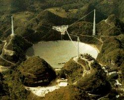 Le radiotélescope d'Arecibo