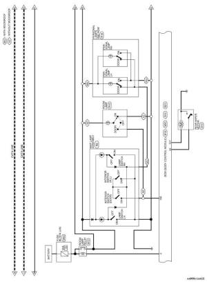Nissan Rogue Service Manual: Wiring diagram  Without intelligent key system  Body Control