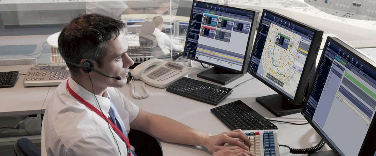 Control room dispatcher