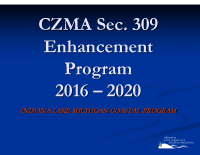 CZMA Sec. 309 Enhancement Program 2016-2020 (Jun 2015)