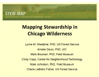 Mapping Stewardship in Chicago Wilderness