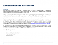 Appendix B – Transportation: Environmental Mitigation