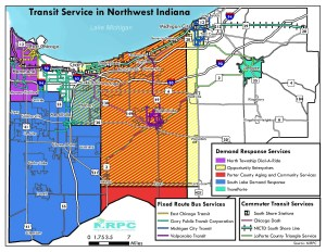 Transit Services in Northwest Indiana