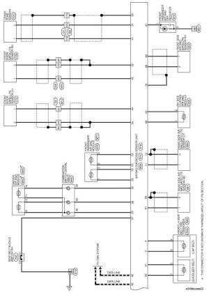 Nissan Sentra Service Manual: Wiring diagram  SRS airbag control system  Restraints