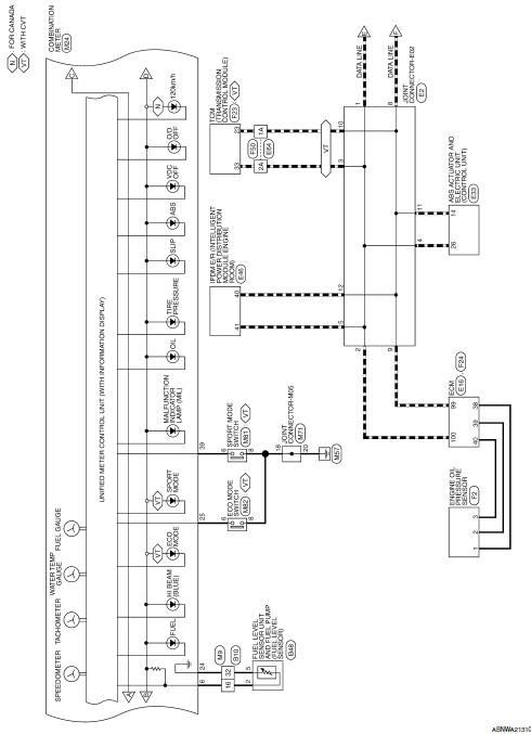 nissan sentra service manual wiring diagram  meter