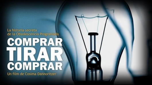 "Documental ""Comprar Tirar Comprar"" sobre la obsolescencia programada"