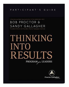 Download Thinking into Results program for leaders