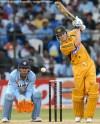 India Australia tie at bangalore