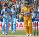 India Australia tie at bangalore