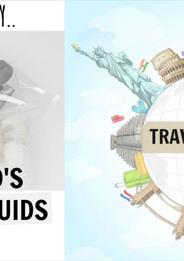What's In My Husband's Liquids Bag | Travel Series #2