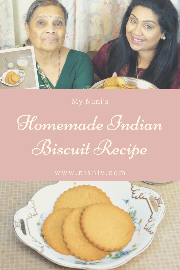 Kenyan baa biscuits, my nan's homemade Gujarati biscuits, Nishi V