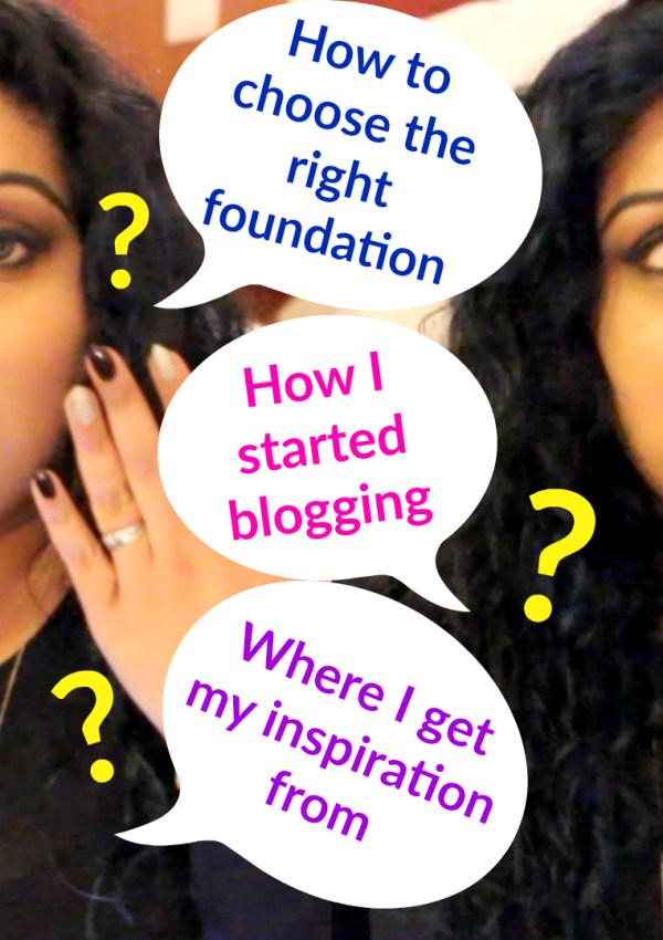 Q&A | How I Started A Blog & YouTube Channel