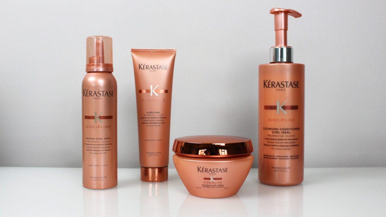 Discipline Your Hair With The Kérastase Discipline Curl Idéal Range