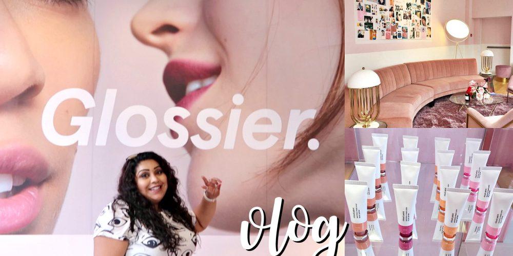 Glossier in the UK Nishi V weekly vlog www.nishiv.c