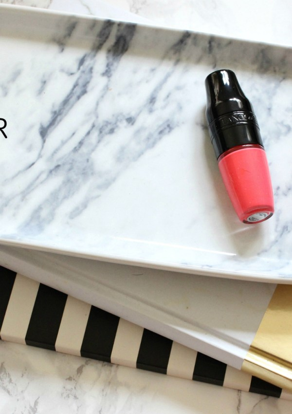 Lancôme Matte Shaker Liquid Lipstick Speedy Review