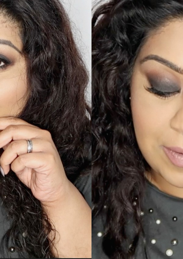 HOW TO DO A SIMPLE SMOKEY EYE FOR BEGINNERS