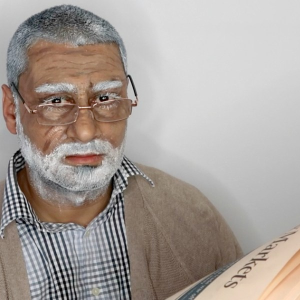 OLD AGE (OLD MAN) HALLOWEEN MAKEUP TUTORIAL, #nishivhalloween, nishi v, www.nishiv.com