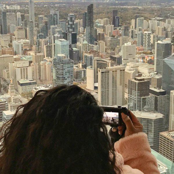 TORONTO VLOG, CN TOWER, CN TOWER SKYPOD, CN TOWER OBSERVATION DECK, www.nishiv.com, nishi v vlog, nishitravels, canada vlog