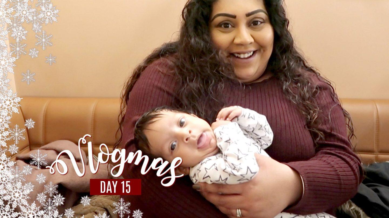 BABY CUDDLES, BRUNCH & CHRISTMAS MOVIES / Nishi V Vlogmas Day 15