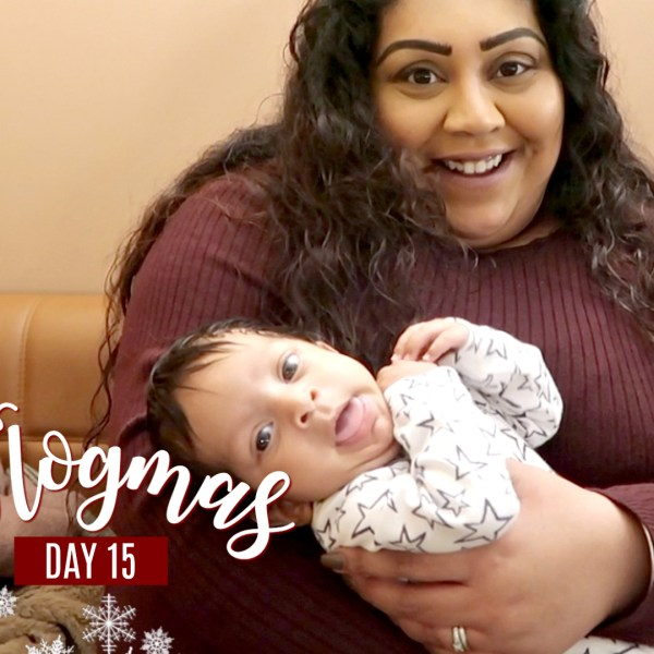 BABY CUDDLES, BRUNCH & CHRISTMAS MOVIES / Nishi V Vlogmas Day 15