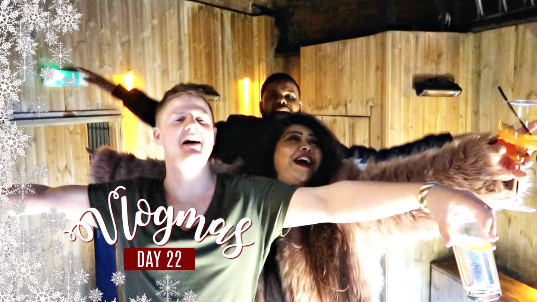 DRUNKEN KARAOKE & SURPRISING MY GRANDPARENTS / Nishi V Vlogmas Day 22