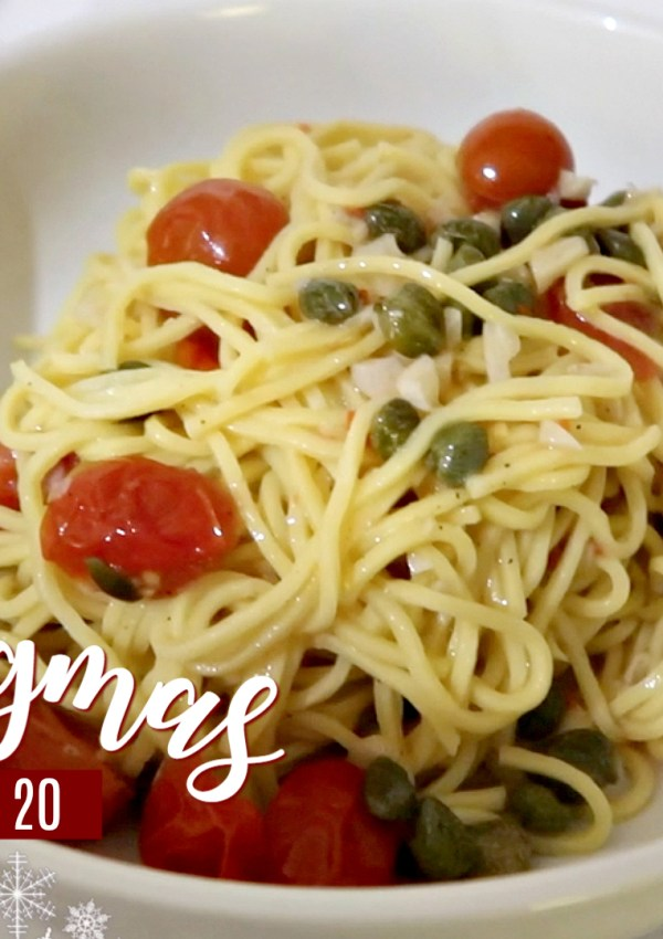 My Spaghetti Aglio E Olio Recipe / Nishi V Vlogmas Day 20