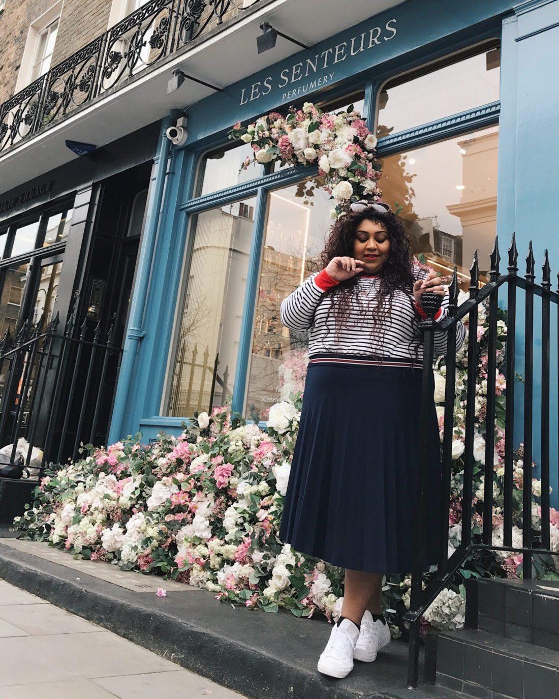 THE MOST INSTAGRAMMABLE PLACES IN BELGRAVIA LONDON, the best instagram photography spots in belgravia, nishi v, #nishitravels, moyses stevens, peggy porschen, les senteurs