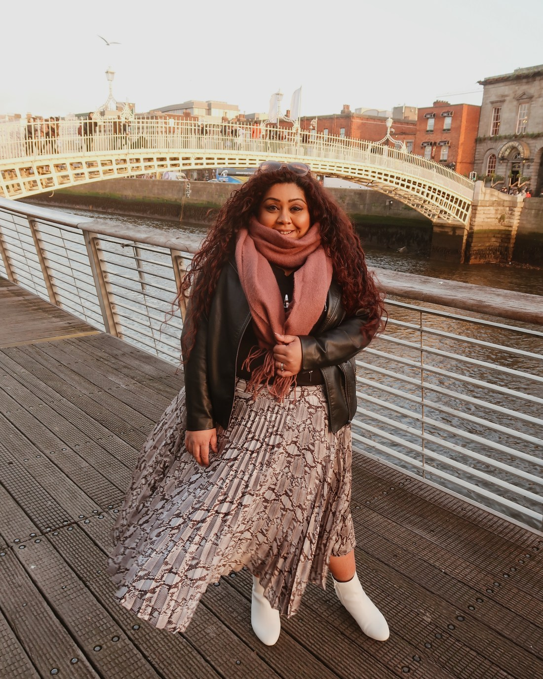 Ha'penny bridge, The Guinness Storehouse, Dublin. 51 unusual and unique things to do in dublin, where to drink in dublin, quirky restaurants in dublin, nishi v, www.nishiv.com