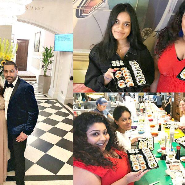 Family Wedding & Yo Sushi Masterclass Vlog, nishi v, www.nishiv.com