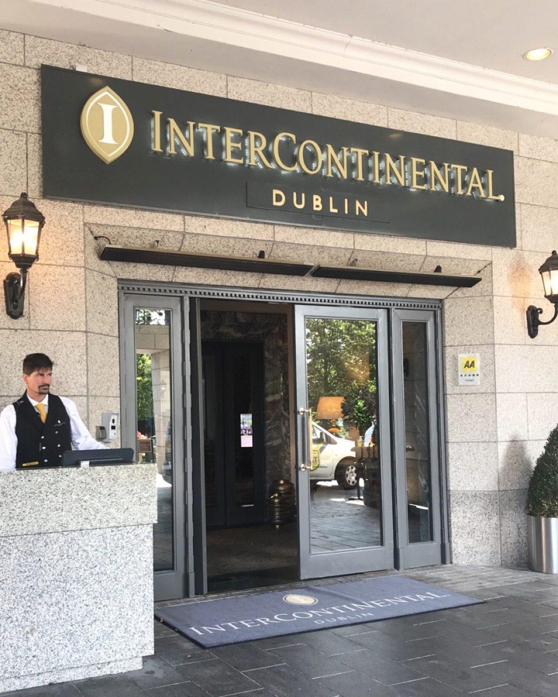 InterContinental Dublin Hotel Review, Nishi V, www.nishiv.com