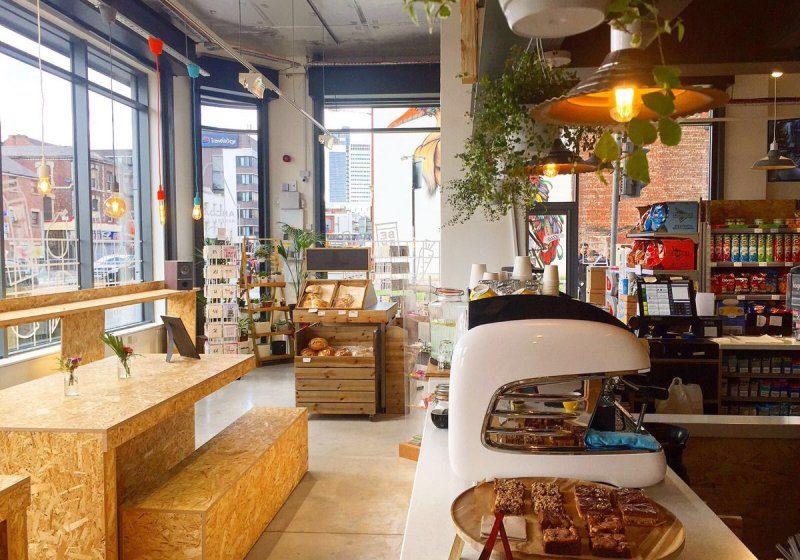 The Best Vegan Friendly Restaurants in Manchester, Ancoats General Store, Nishi V
