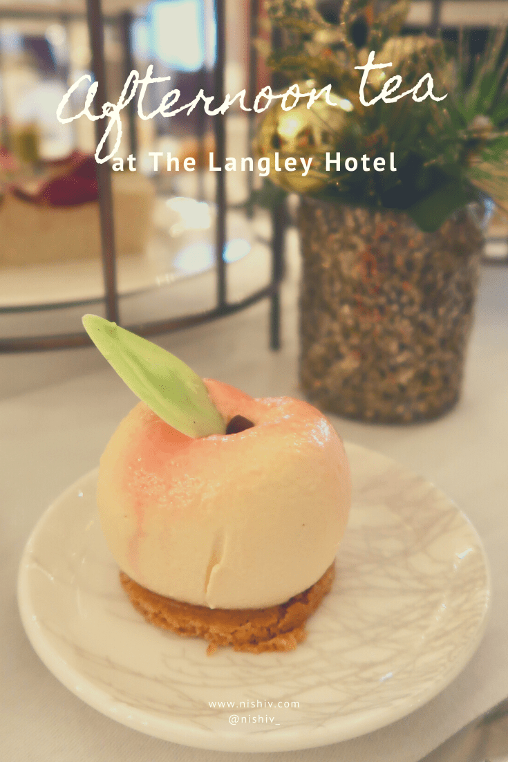 Afternoon Tea, Cocktails & A Tour Of The Langley Hotel Spa, Nishi V