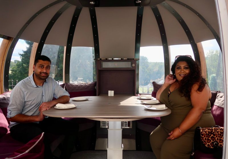 Ponsbourne Pods: Unique, Private Dining With A View
