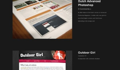 site portfolio wordpress