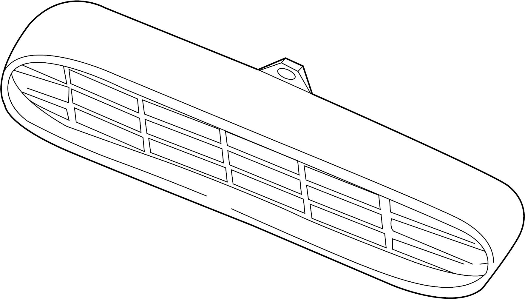 Nissan Quest Grille Front Trim Interior Body