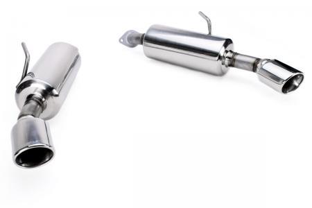 stillen 2014 infiniti q50 ss axle back exhaust system