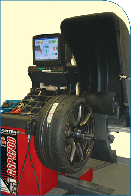 Pictures Hunter Gsp9700 Tire Balance Machine