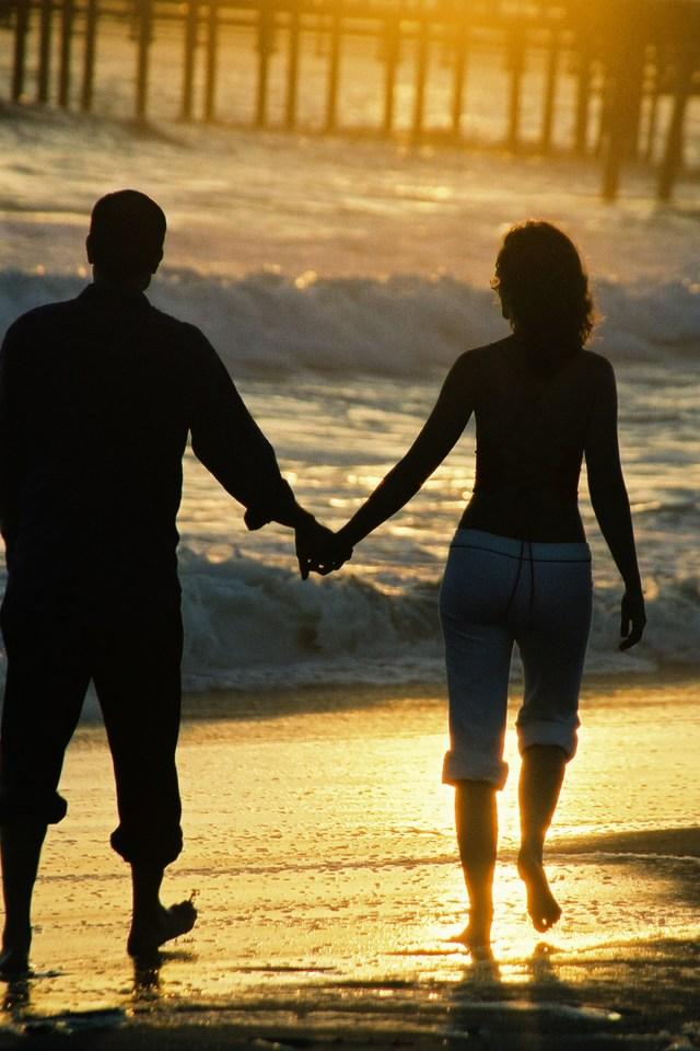 a beach walk