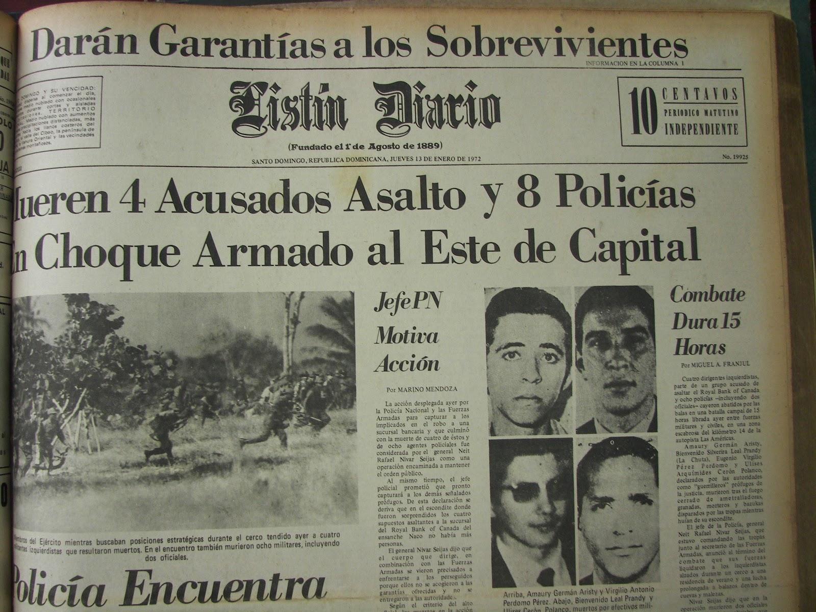 Resultado de imagen para 12 de enero de 1972 los palmeros imagenes