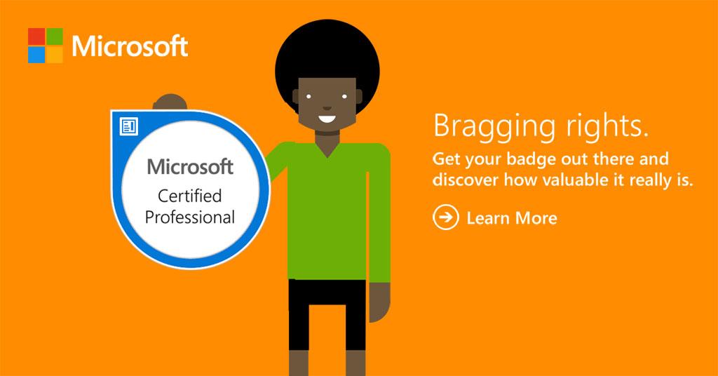 Introducing Microsoft badges