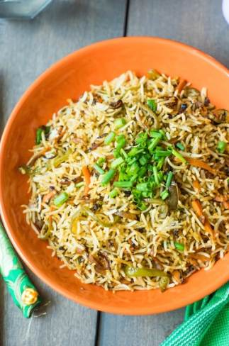 Fried Rice Recipe Indo-chinese Style