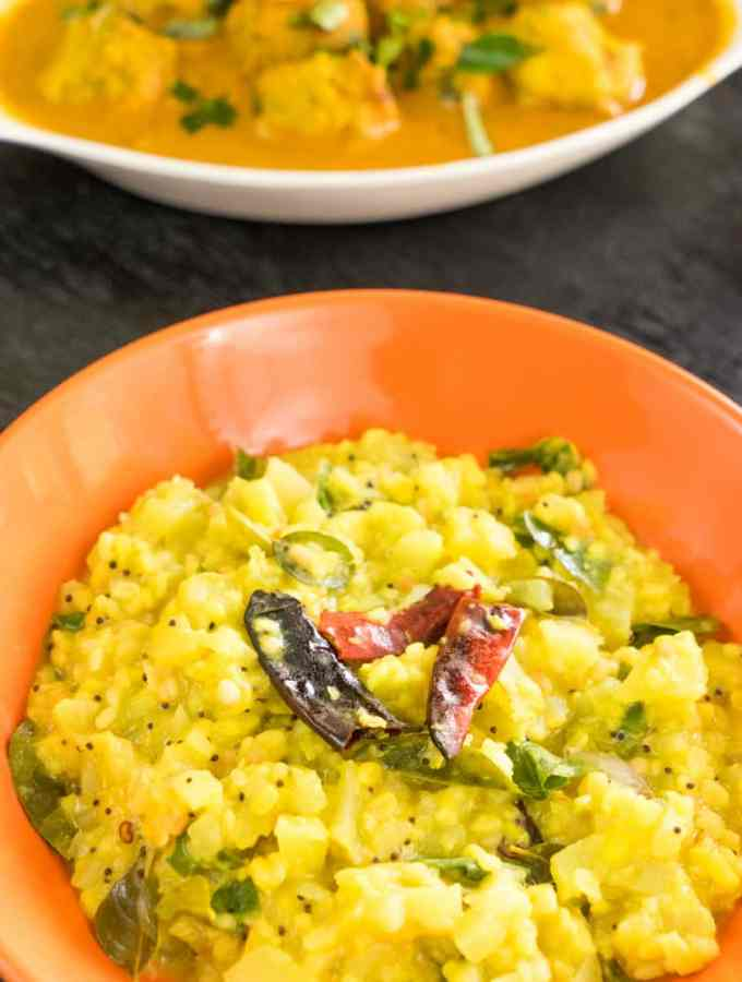 chow chow kootu recipe without coconut /chayote kootu recipe