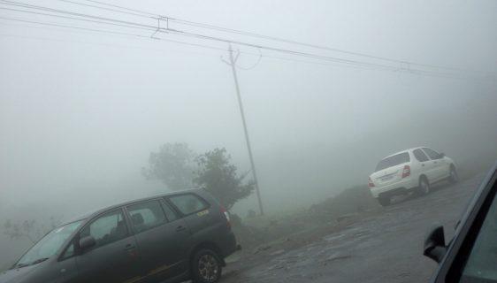 Climate at Bhimashankar - Pic by Shakti