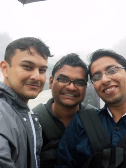 Amitav, Shakti and Nitin