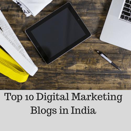 Top 10 Digital Marketing Blogs in India