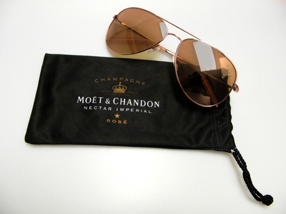 Moët Rosé x Mosley Tribes Sunglasses