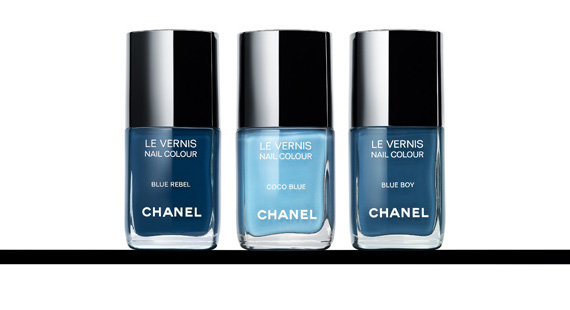 Chanel Les Jeans De Chanel Nail Collection