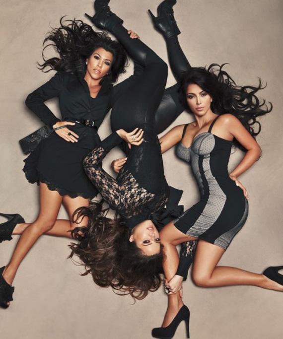 Kardashian Kollection for Sears Campaign Shot by Annie Leibovitz
