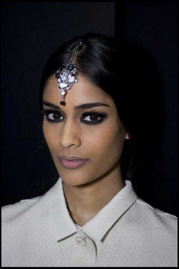 Chanel 2012 Paris Bombay Métiers d'Art Show Makeup
